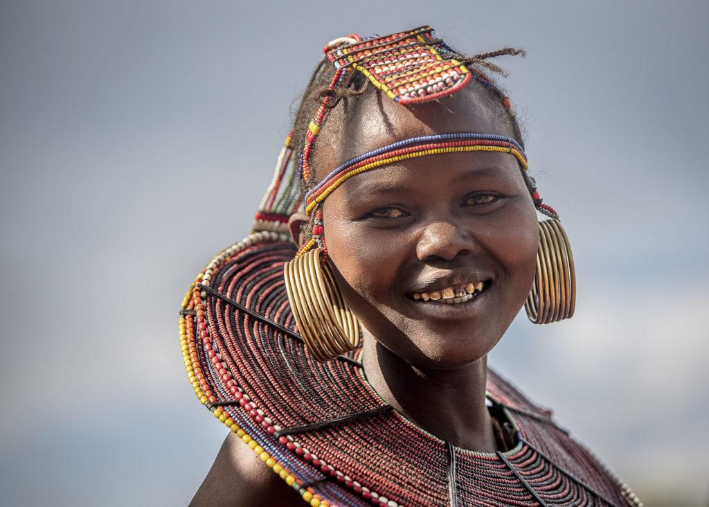Smile of the tribe -Kenia