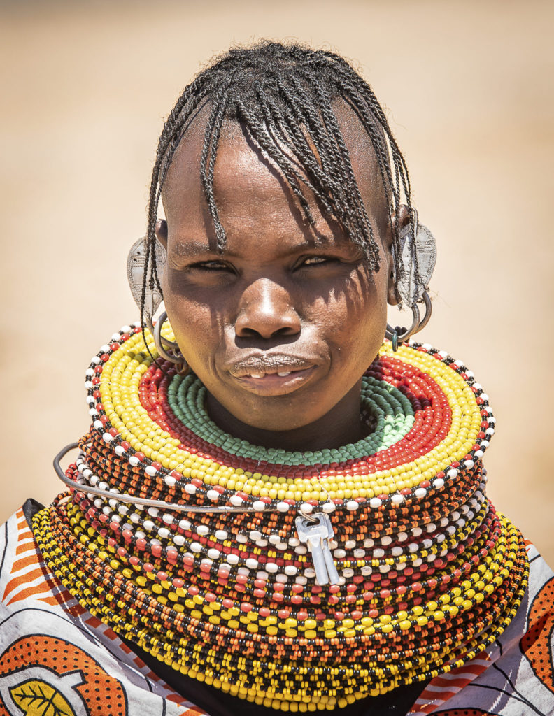 Turkana woman – Kenia