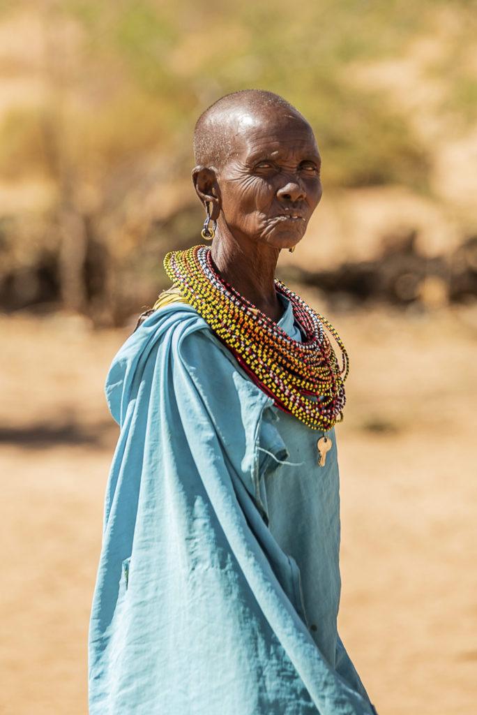 Old Samburu lady – Kenia
