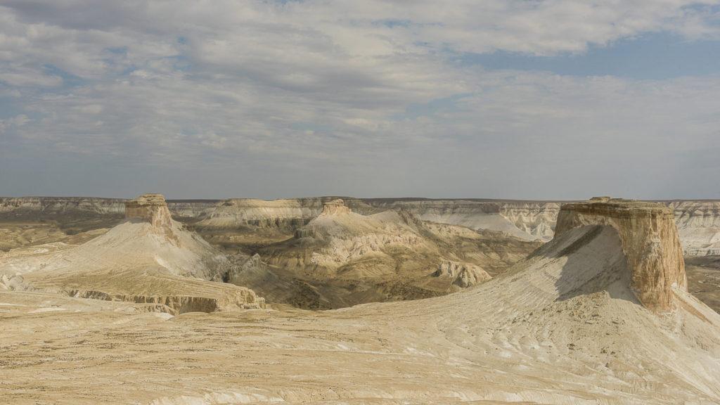 The white desert – Kazachstan