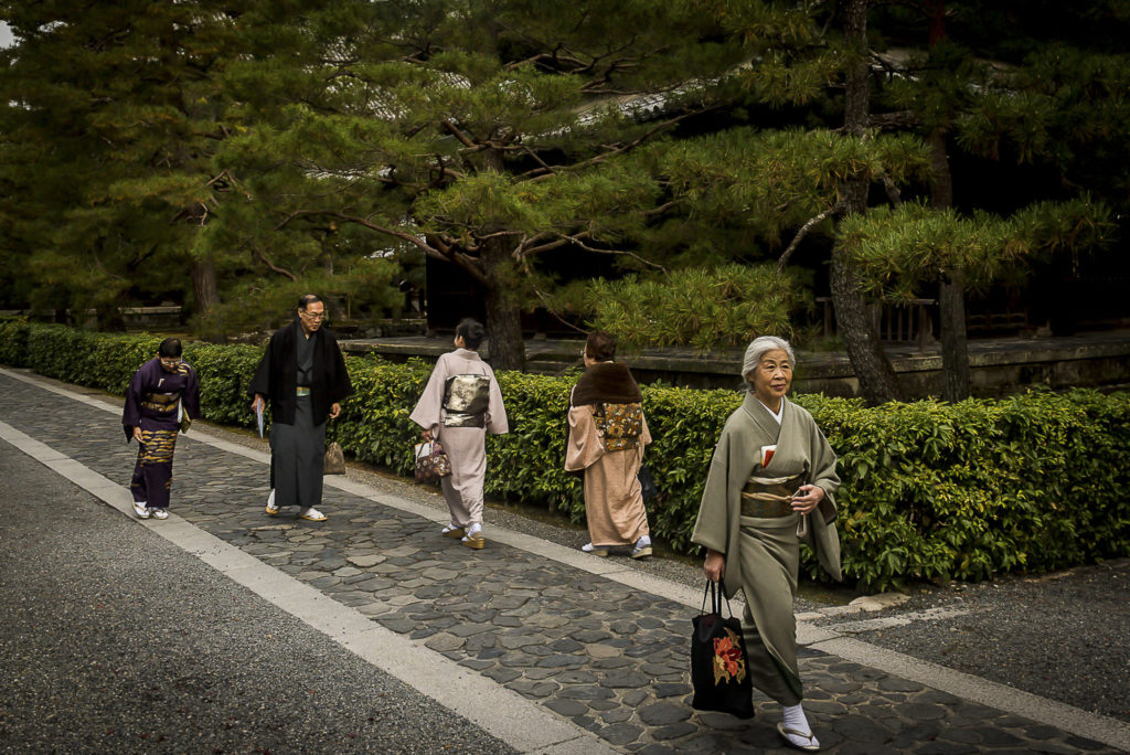 Traditional dressed – Japan
