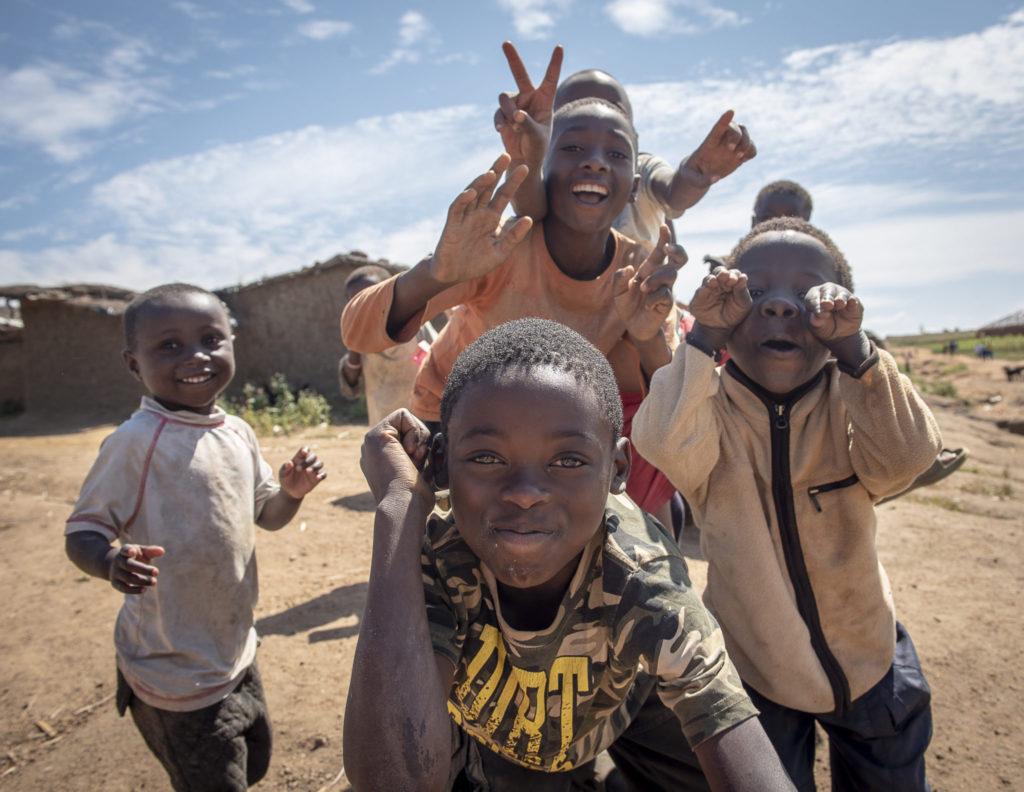 Boys in a refugee – Malawi