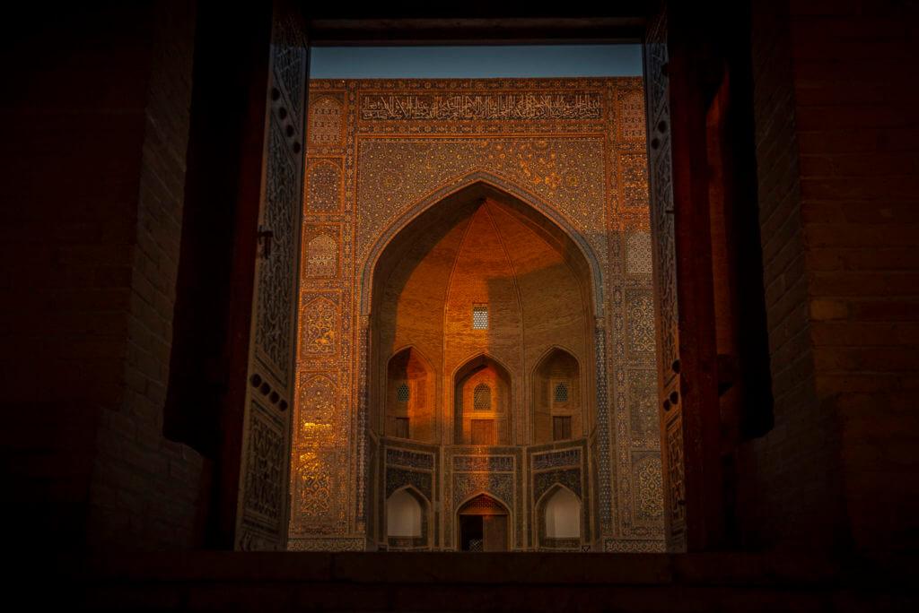 Sunlight gate Bukhara – Uzbekistan