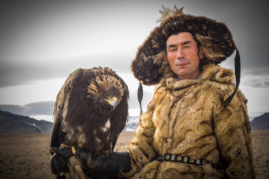 Kazach eagle hunter – Mongolia