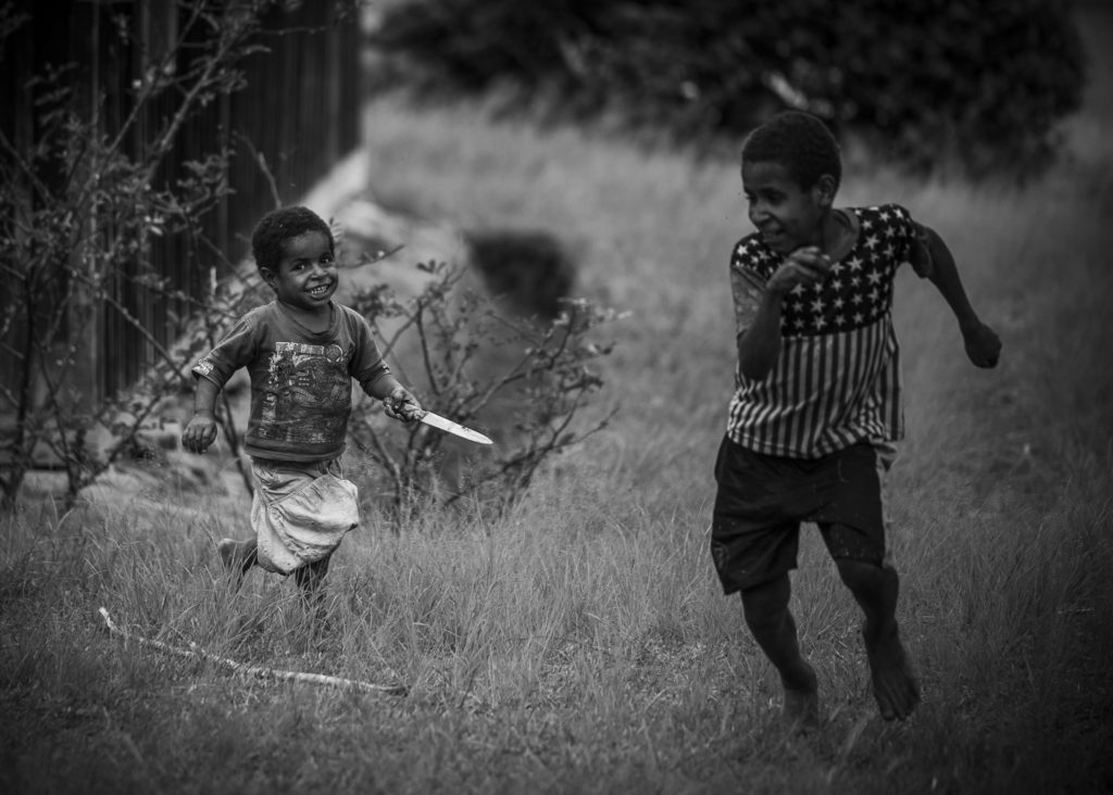 Baby's on the hunt – Indo Papua