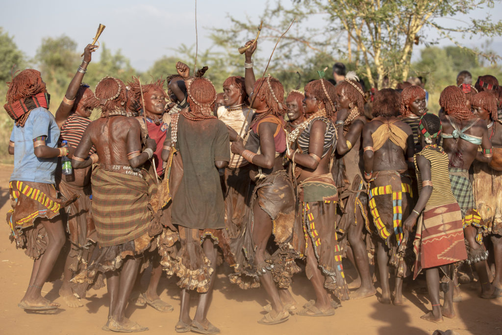 Hamer ceremony – Ethiopia