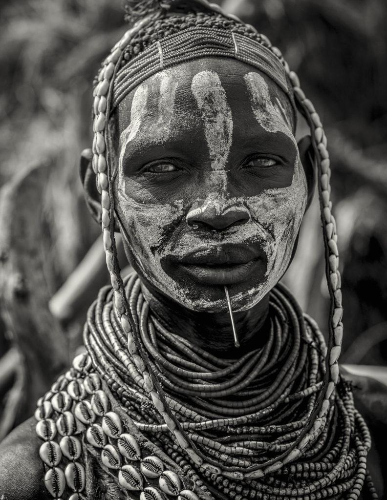 Karo face – Ethiopia