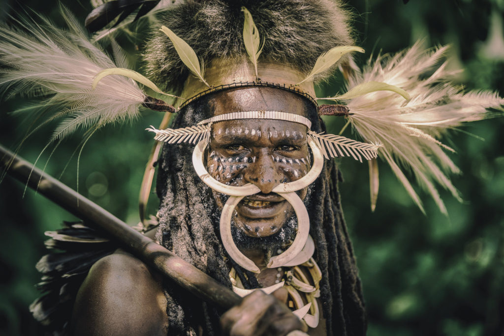 Dani tribe warrior – Indo Papua