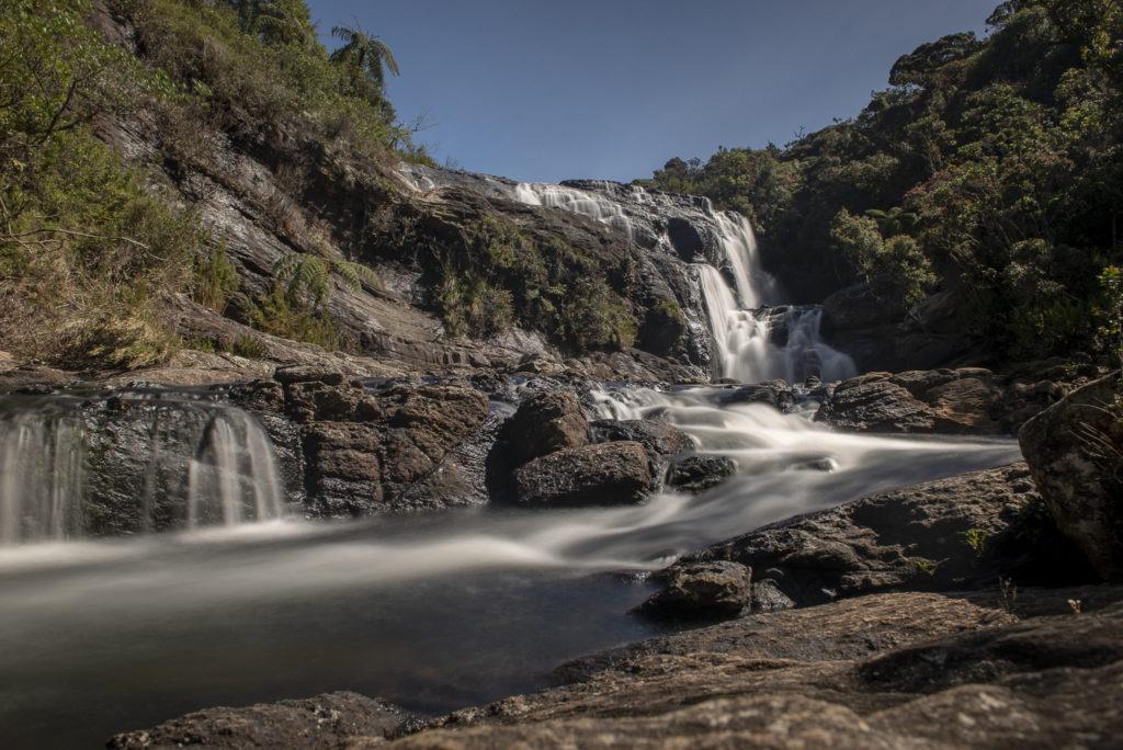 Waterfall in Horton Plains – Sri Lanka