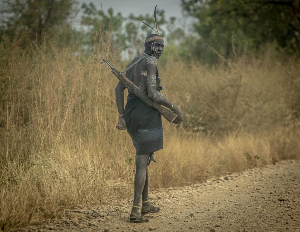 Warrior looking back – Ethiopia