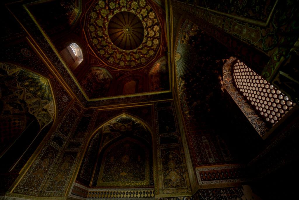 Inside mosque – Iran