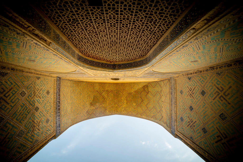 Portal of great mosque – Uzbekistan
