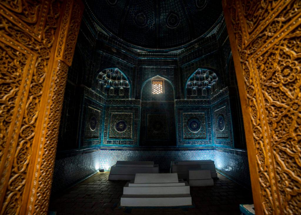 Gate of burial site – Uzbekistan