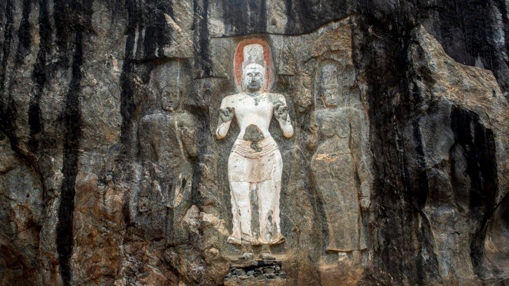 Rock carving – Sri Lanka