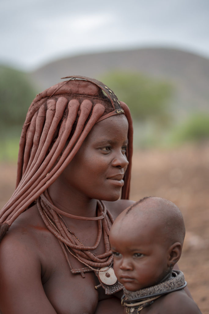 Mother and child Himba – Namibia