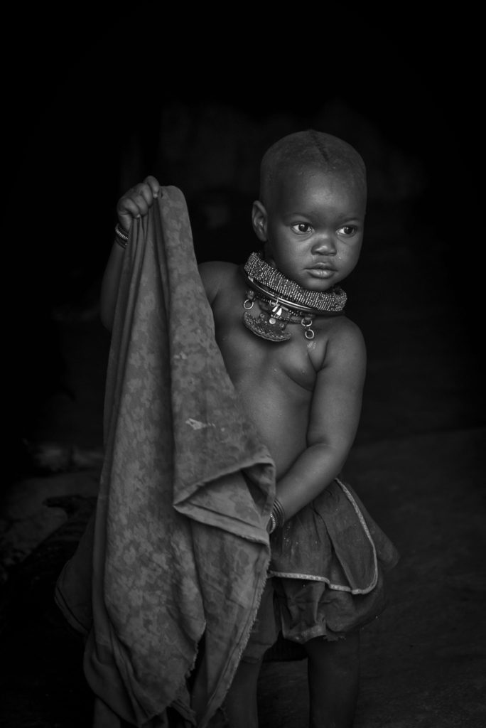 Girl with the blanket – Namibia