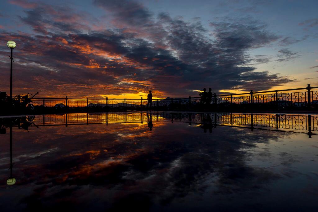 Mirror in Sunset – Malaysia