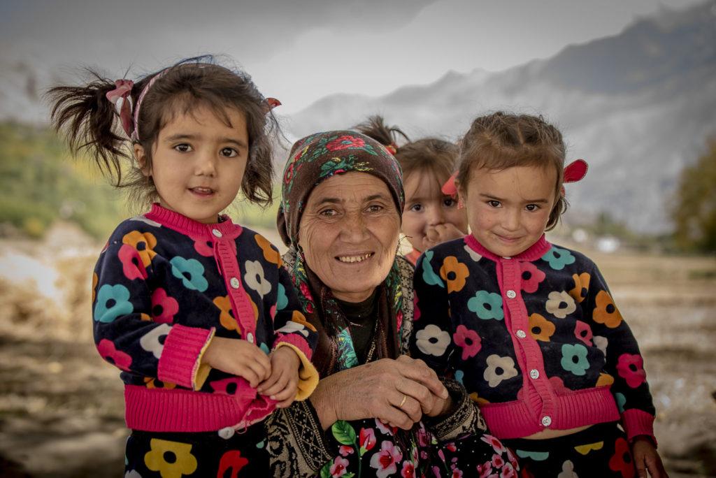 Traditional family – Tadjikistan