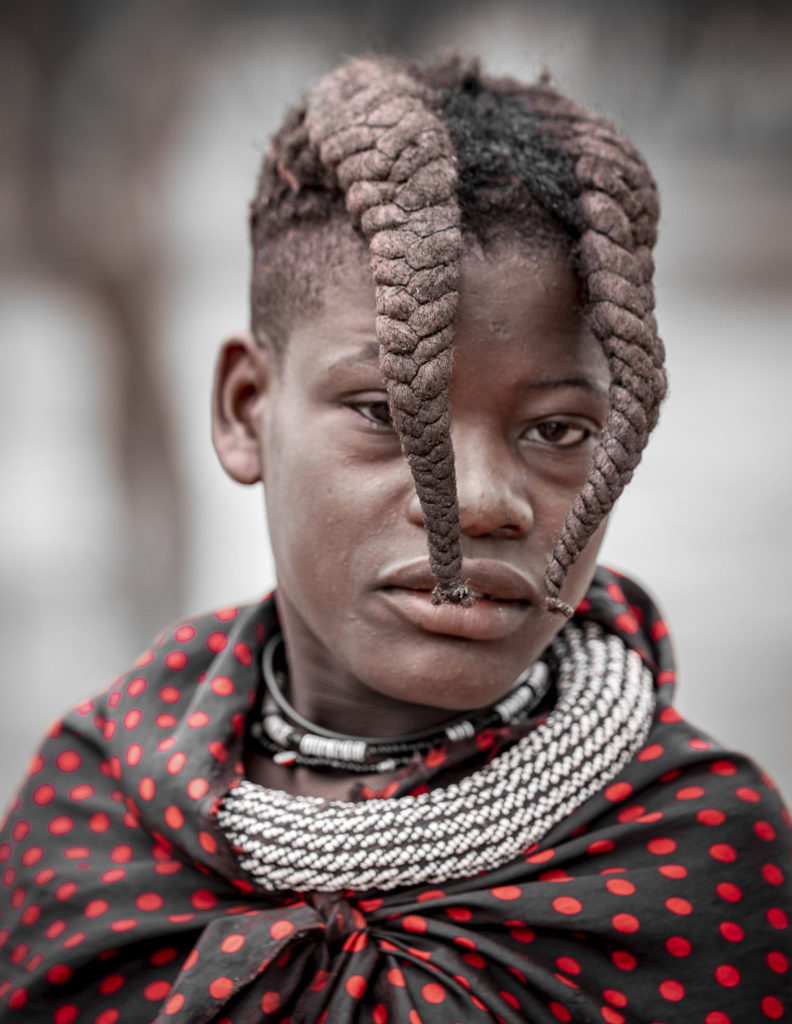Himba boy – Namibia