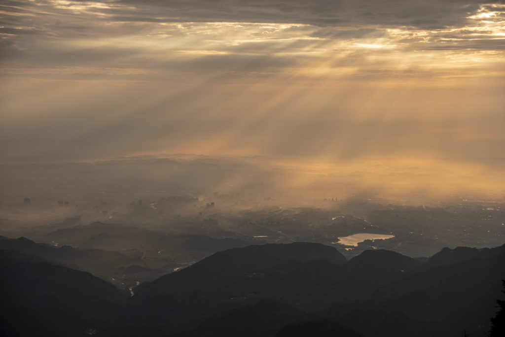 City sun lights – China