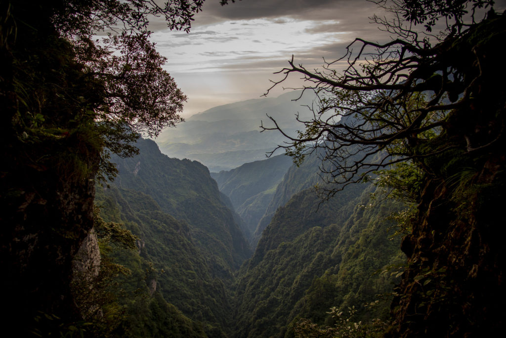 Valley view Emei shan – China