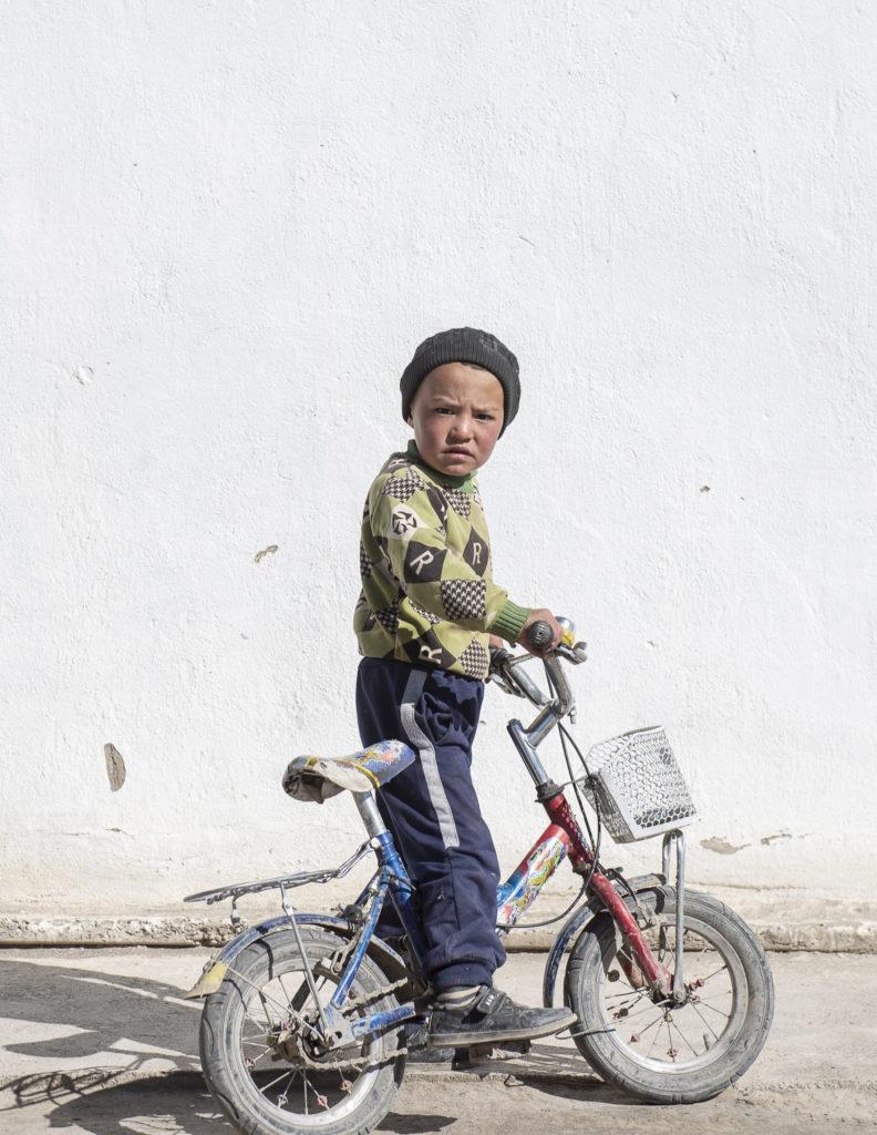 Little cyclist – Kyrgyzstan