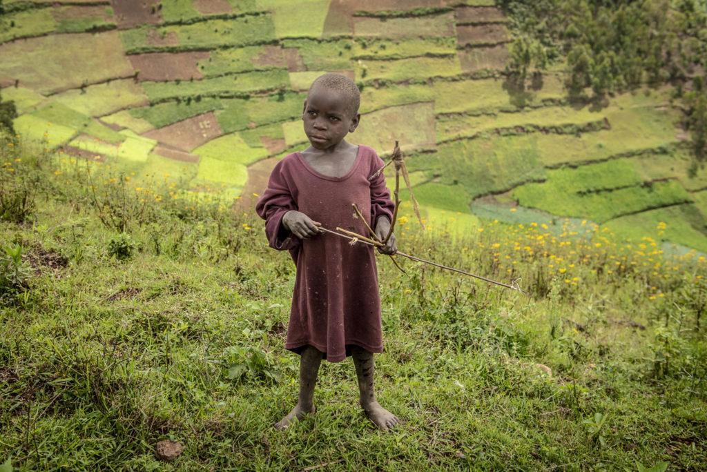 Pygmee warrior child – Uganda