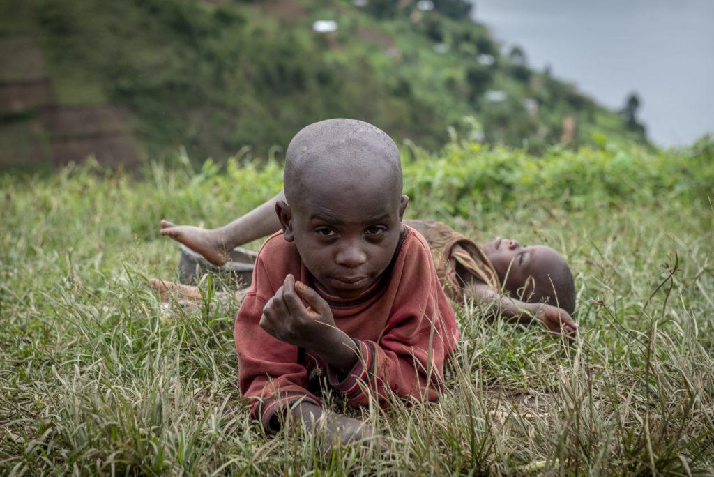 Pygmee boys – Uganda