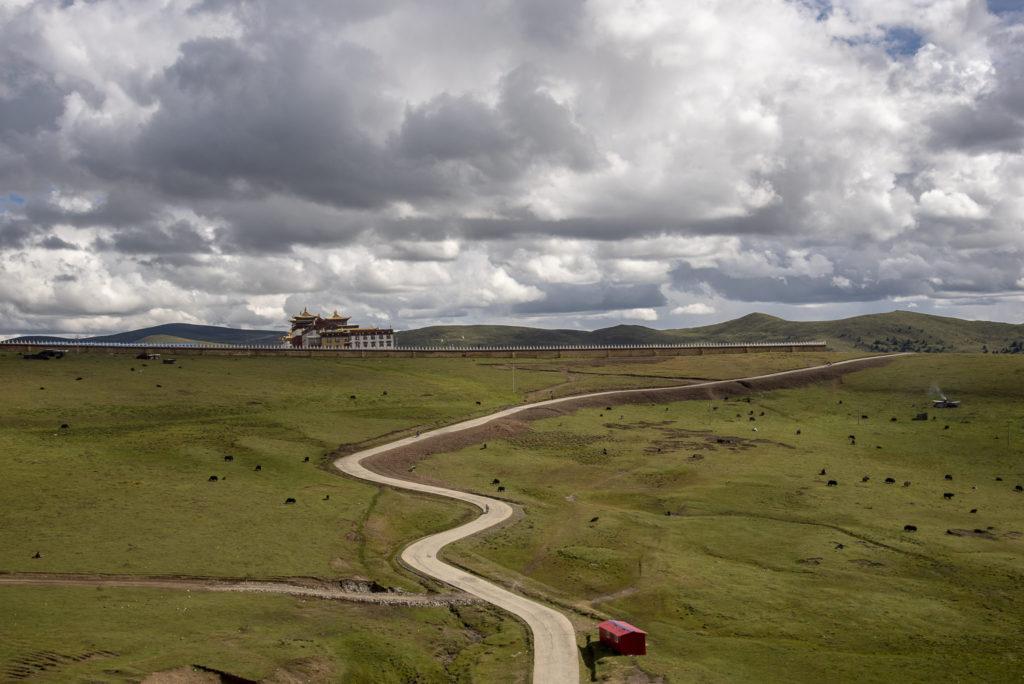 Monastery view – China