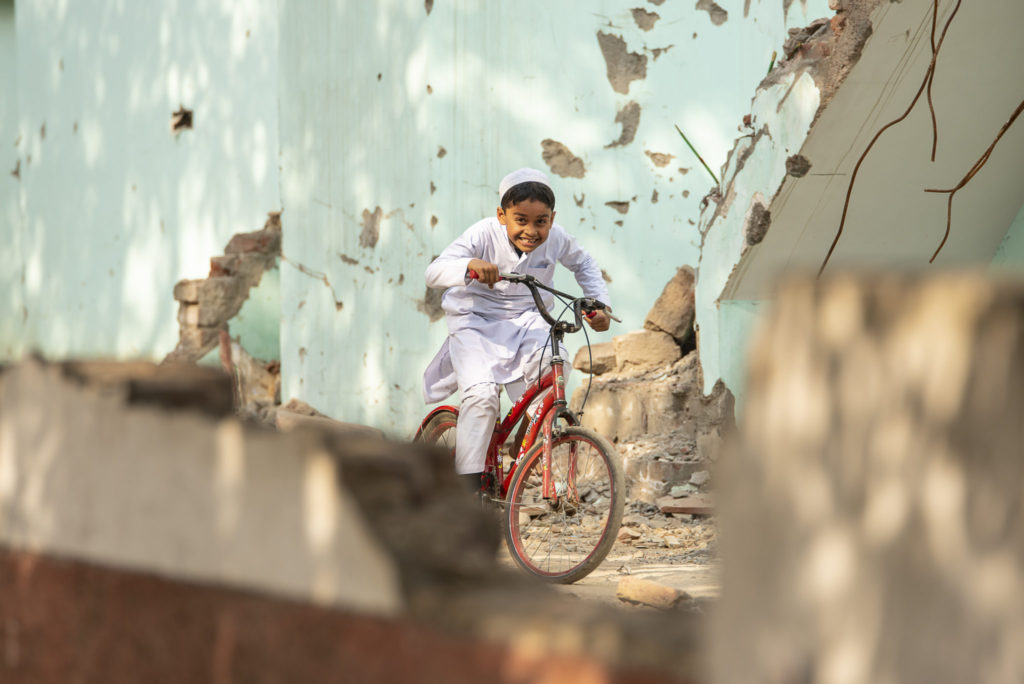 Ride my bicycle – India