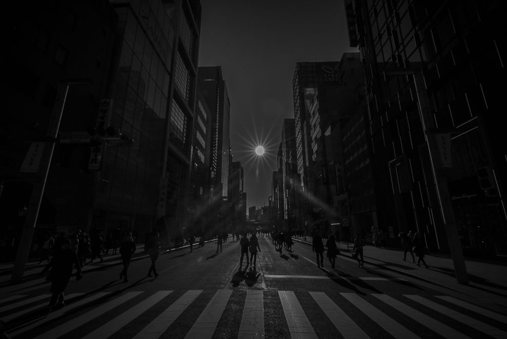 Walk the lines – Japan