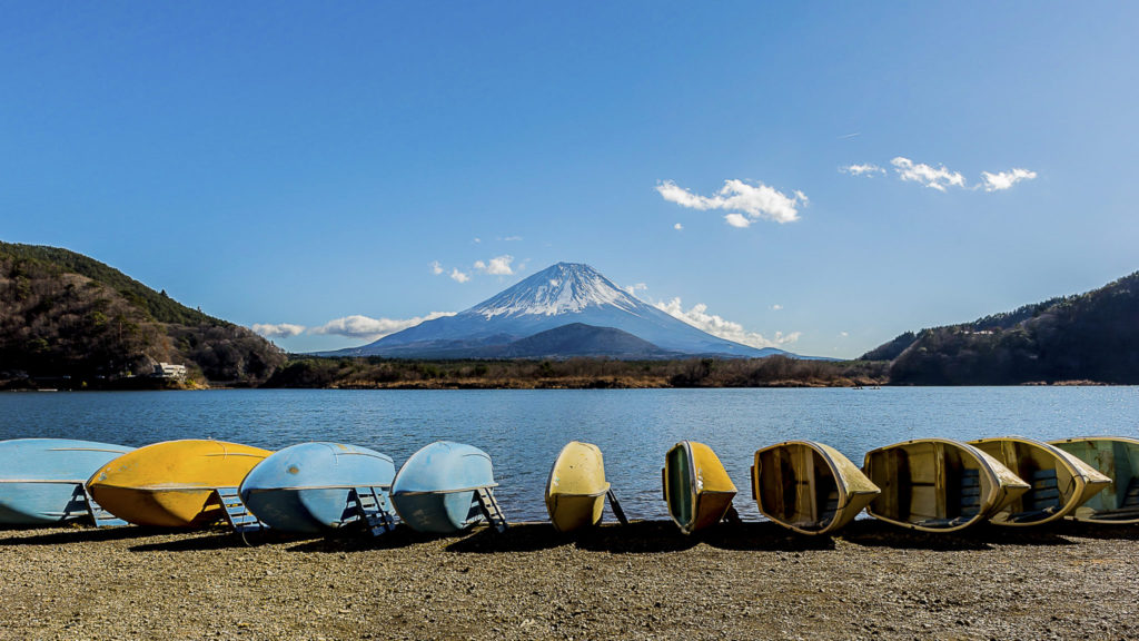 Mt Fuji – Japan
