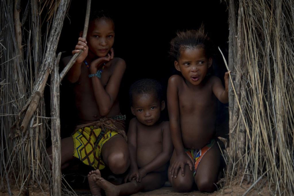 San children – Namibia
