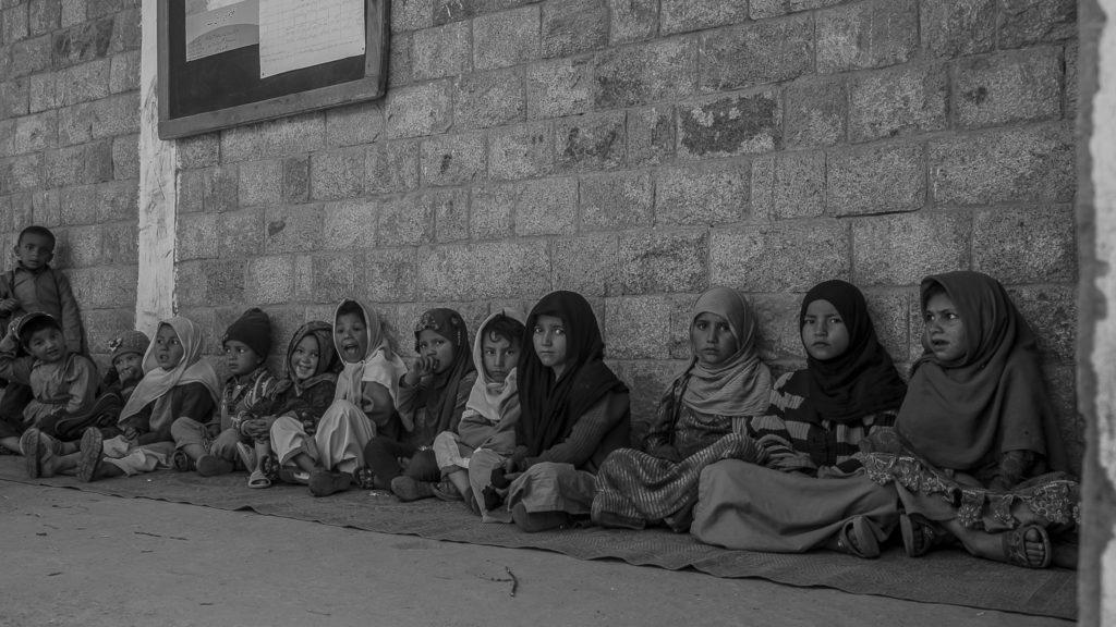 At a small school – Pakistan