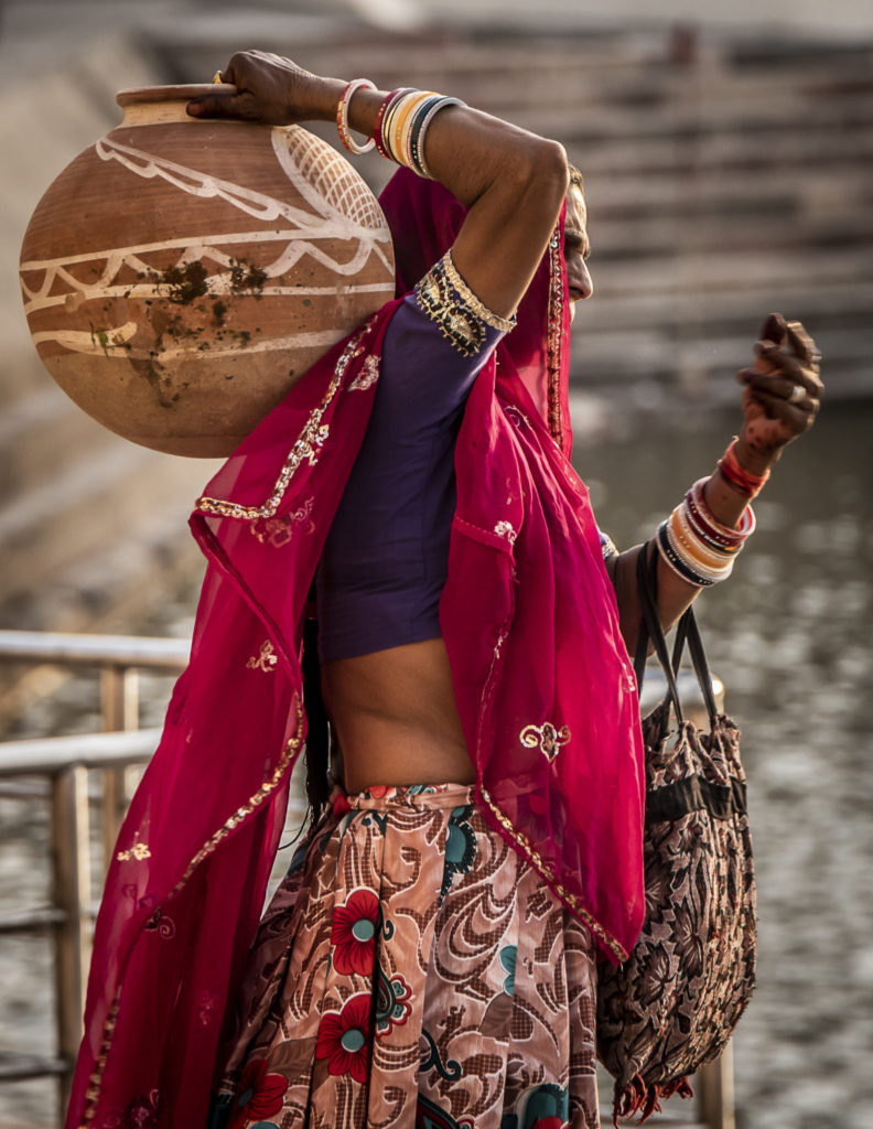 Woman of – India